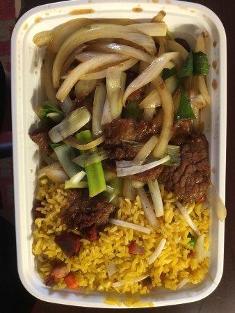 Prince George, VA: Mongolian Beef Combo