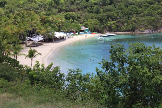 Caneel Bay, St. John: We LOVED our day on honeymoon Beach!