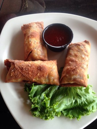 Lovely day at Port O'Call!!  The egg rolls are homemade & their prime rib melts on your mouth li