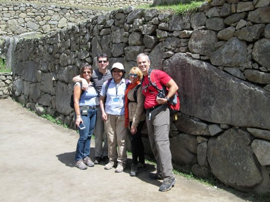 Cusi Travel - Day Tours: Last few minutes in Machu Picchu after a great couple of days with Emilia