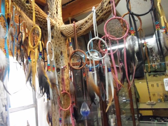 Dream Catchers In One Of The Stores Picture Of Oatman Ghost Town Simple Where To Buy Dream Catchers In Stores