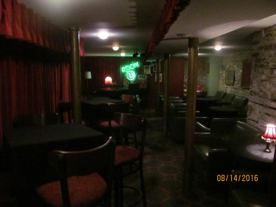 Old Chicago Inn: This was the speakeasy in the basement (Room 13).