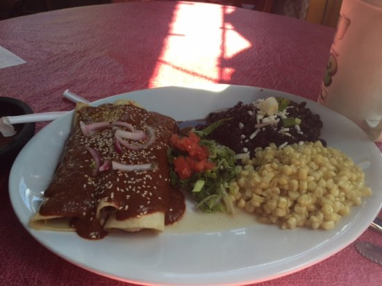 Santiago's Mexican Restaurant: Chicken Mole