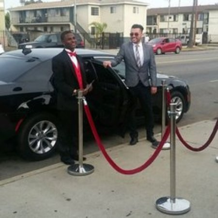 in a city like los angeles limousine drivers