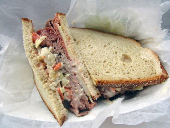 Bridgewater, NJ: Steck's Delicatessen Roast Beef Sloppy