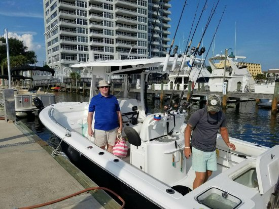 Picture of gulf angler fishing charters for Fishing charters mexico beach fl