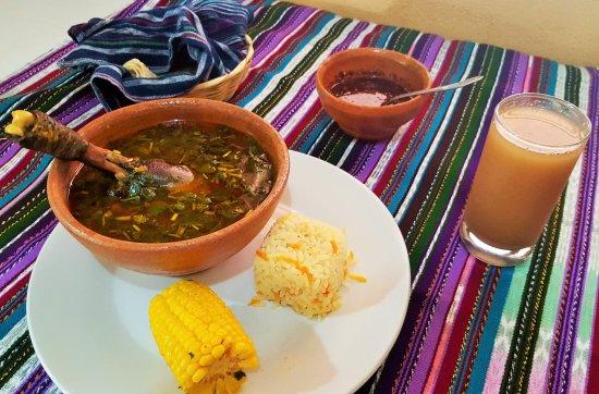 Chahal, Guatemala: Platillo tipico