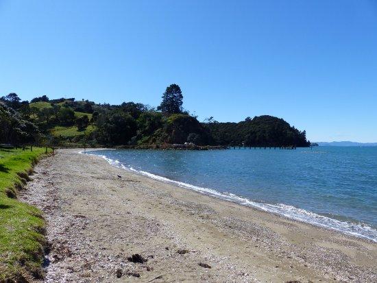 Waiheke-eiland, Nieuw-Zeeland: Man O'War beachfront