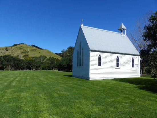 Pulau Waiheke, Selandia Baru: The Chapel in the Paddock
