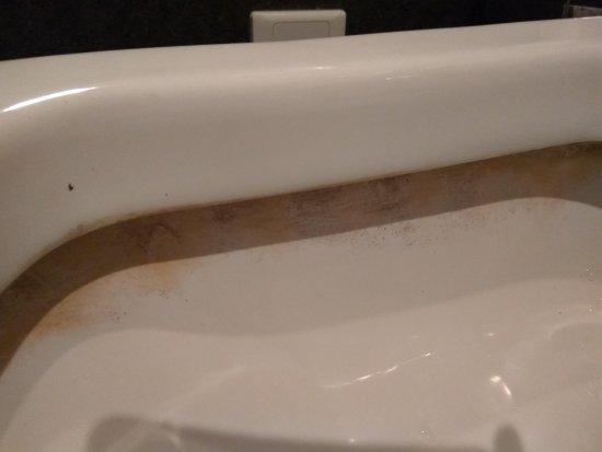 Rich&Young Seasons Park Service Apartment: Filthy toilet rim