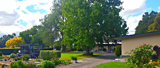 Meeniyan, Australien: Motel Grounds