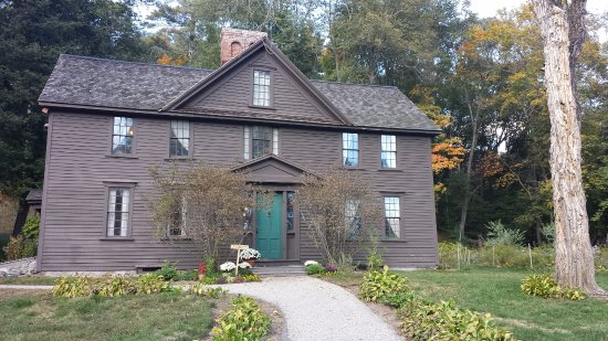 Concord, MA: The front of Orchard house