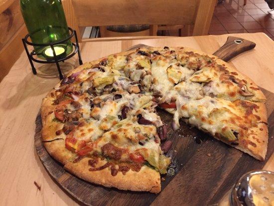 Tofte, MN: It's a pizza!   Duh.
