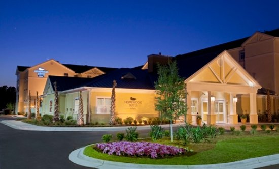 Homewood Suites by Hilton Wilmington/Mayfaire : Great look in the night