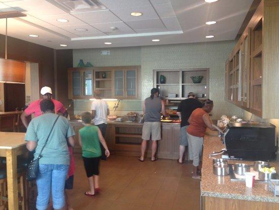 Hyatt Place Corpus Christi : Breakfast area