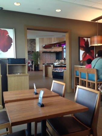 Hyatt Place Corpus Christi : Lobby as seen from the breakfast room