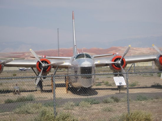 Greybull, WY: One of the aircraft