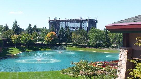 Soaring Eagle Casino & Resort: My amazing view of concert venue