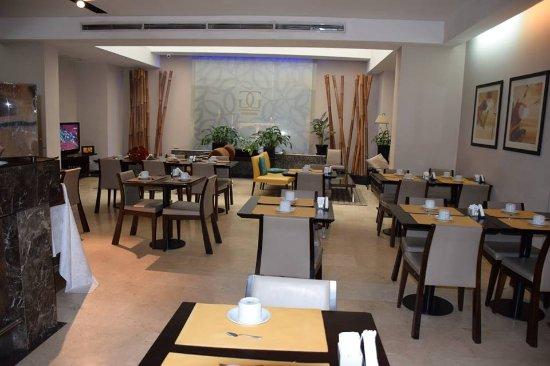 Galerias Hotel: Restaurante onde é servido o café da manhã