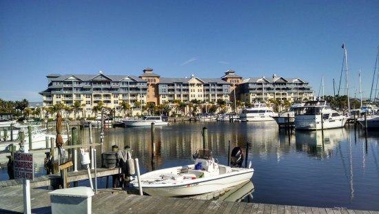 Ruskin, FL: Complejo visto desde la marina