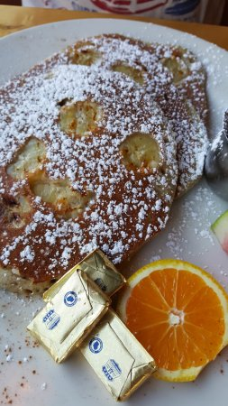 Kent, WA: Buckwheat pancakes with banana