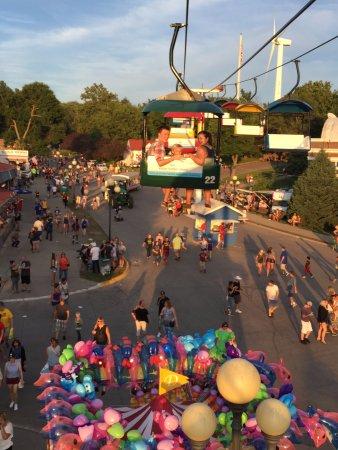 Iowa State Fairgrounds: Sky Glider at the Iowa State Fair