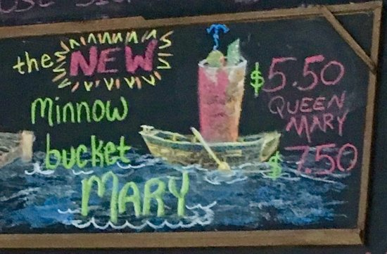 Battle Lake, MN: Bloody Mary's at the Boathouse