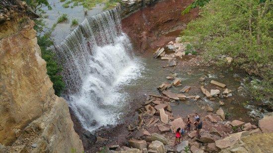 Arkansas City, KS: may 29, 2016 after a week's worth of rain
