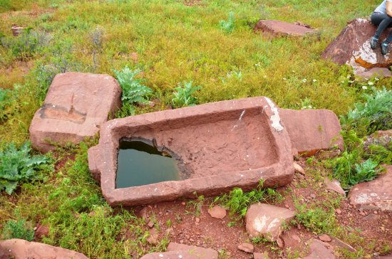 Taraz, Kasakhstan: На каменоломне археологического комплекса Акыртас