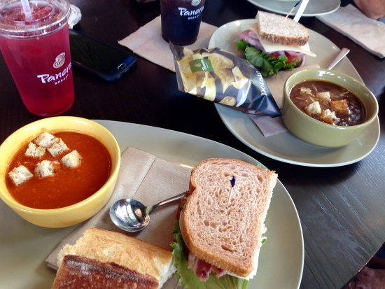 Springfield, OR: French onion, tomato soup and half sandwich lunches