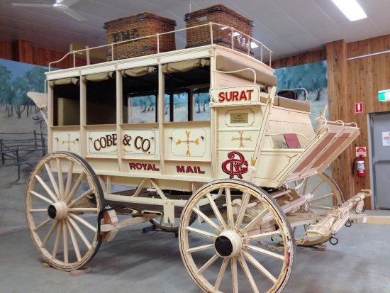 Surat, Australia: Cobb & Co Coach