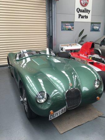 "Omaka Classic cars: Jaguar ""C"" Type"