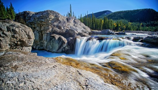 Elbow Falls Provincial Recreation Area: Taken Sept 13 2016