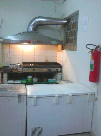 Três Corações, MG: Cozinha exposta