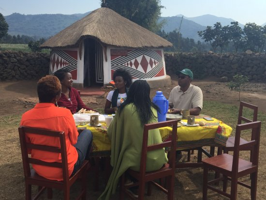 Breakfast time at Iby'Iwacu Cultural Village