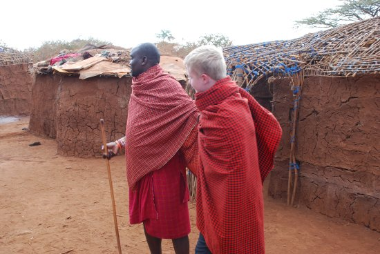 Amboseli Sopa Lodge: Visit to the Masai Village