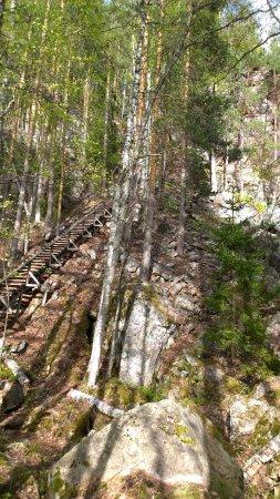 Kouvola, Finlandia: Steps up to Katajavuori