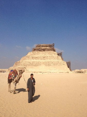 Egypt Guidelines Day Tours : Step Pyramid - Giza