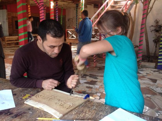 Egypt Guidelines Day Tours : Fagnoon Art Village - Giza