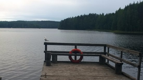 Kouvola, Finland: Lake Kapiavesi. Camping site Määkijä.