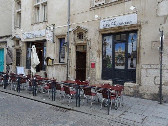 Le Romarin: Façade du restaurant