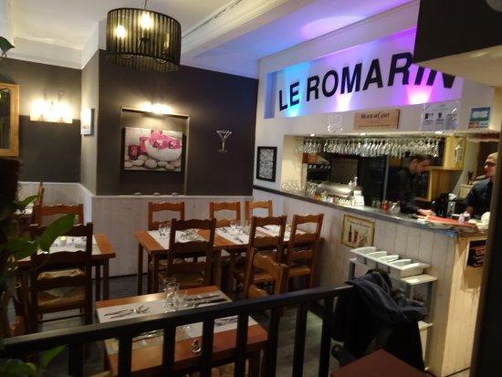 Le Romarin: Salle principale