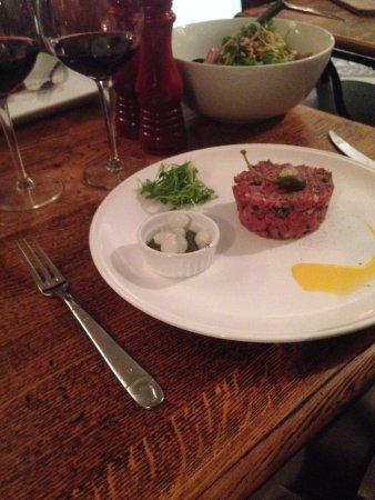 Werchter, Belgium: Steak tartare