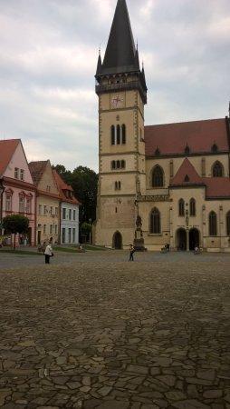 Bardejov, Slovakia: 2 mins walk to town
