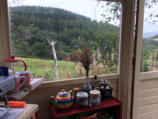 Machynlleth, UK: Breakfast at Bron Yr Aur. Wonderful!