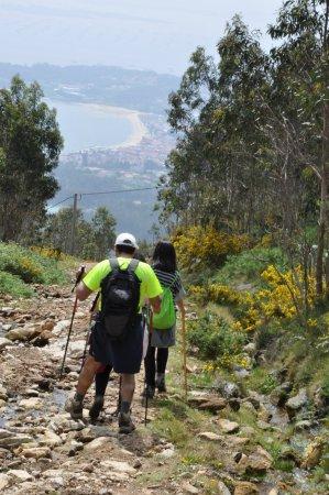 A Pobra do Caraminal, Spanien: Sederismo desde la Curota