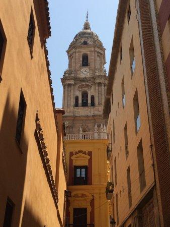 Malaga Cathedral: Знаменитый вид