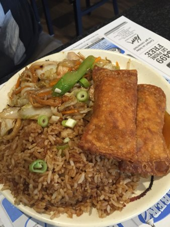 Oriental Gardens: Lunch specials