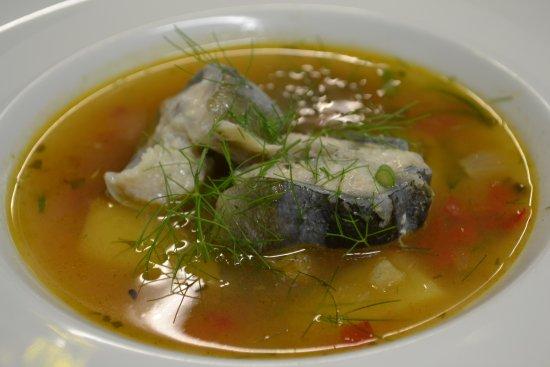 Eel soup - Picture of Vinoteek Prelude, Kuressaare ...
