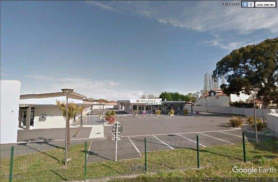 Benesse-Maremne, Frankreich: Vue depuis la RD 810